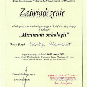 minimum-onkologii